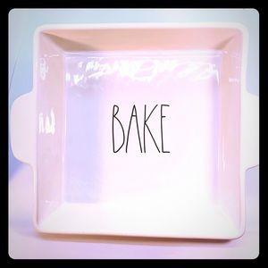 "RAE DUNN    ""Bake"" Brownies, Cakes, Casseroles🥘"